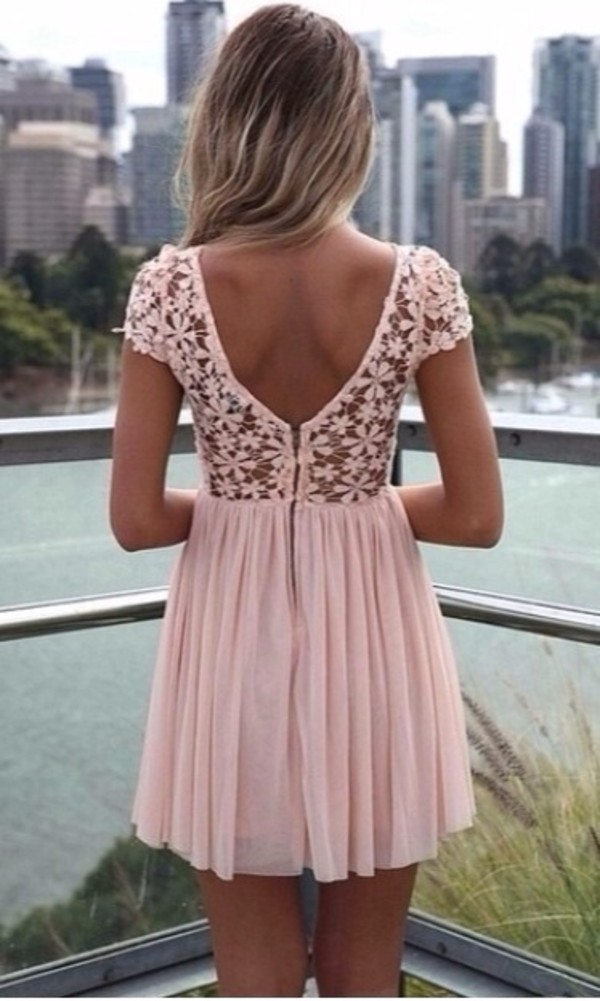 dress light pink