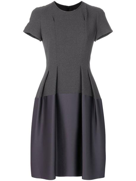 PAULE KA dress flare dress flare women fit cotton grey