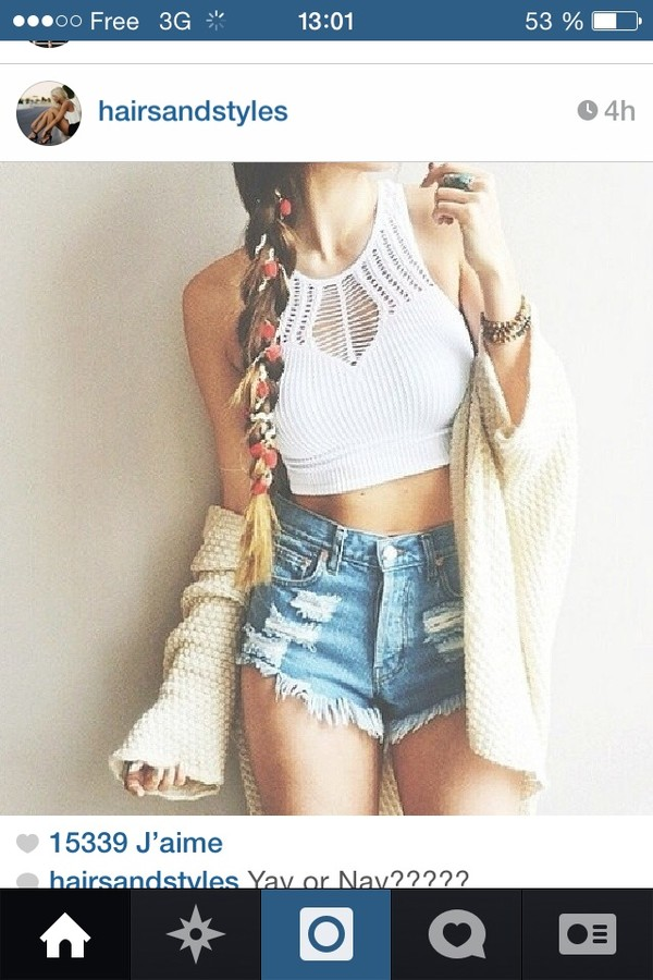 shirt shorts hat cardigan shop top