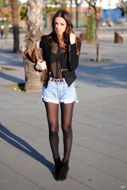 t-shirt black classy jacket shoes