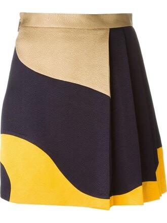 skirt short skirt pleated short