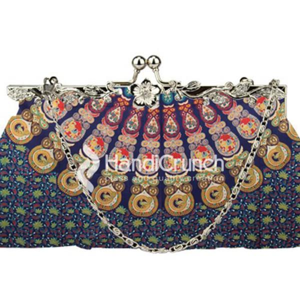 bag handbag mandala shoulder bag tote bag black chain clutch bag hobo bag floral bags