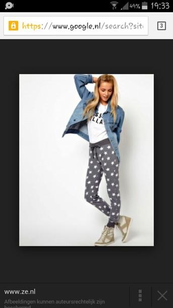 pants grey jeans
