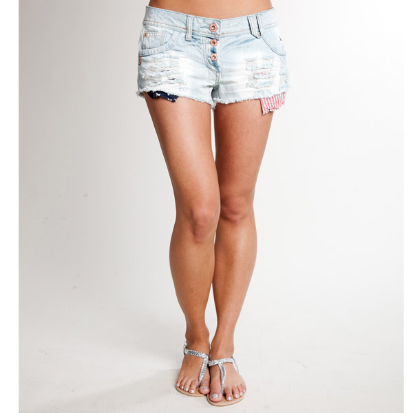 Cal Deluxe Americana Hotpants (Womens) | Buy Womens Shorts online ...