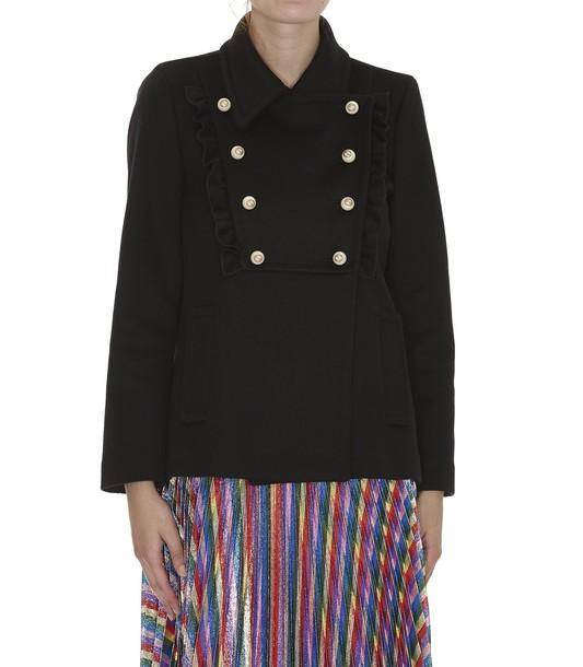 gucci jacket wool jacket wool black