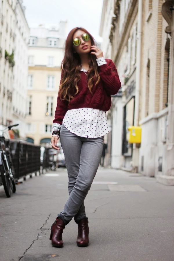 rosa pel's blog sweater shirt jeans shoes jewels