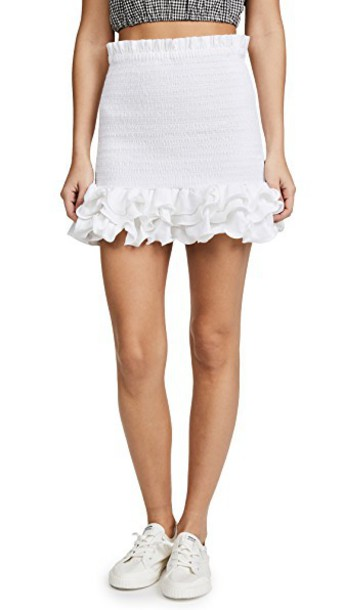 Petersyn skirt white