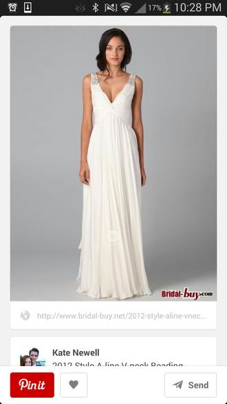 prom dress prom white dress wedding dress dress evening dress