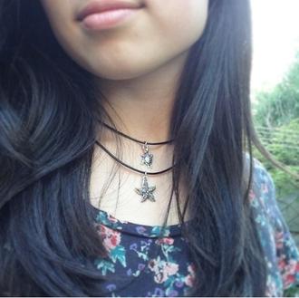 jewels necklace choker necklace sea ocean
