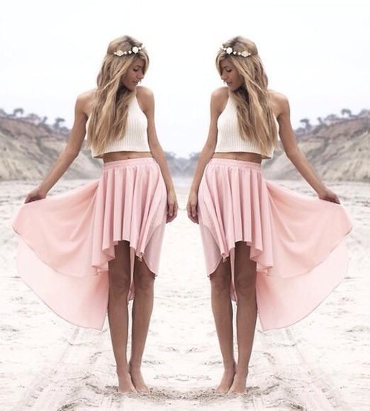 skirt pink skirt dress pink