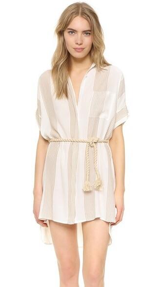 dress shirt dress print