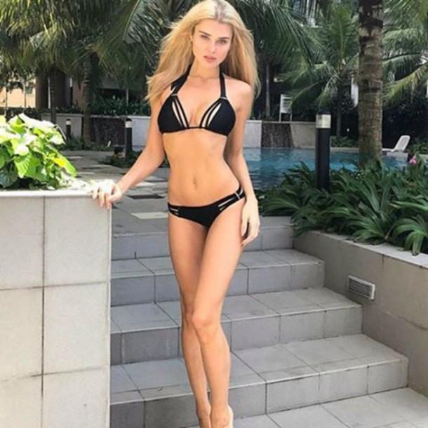 2bb119693a swimwear black bikini black swimsuits black bathingsuit black bikinis lady  lux ladylux lady lux swimwear lux