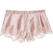 pants,shorts,lace,pink,pink shorts,lace shorts,old pink,cute shorts,cute,underwear,pastel