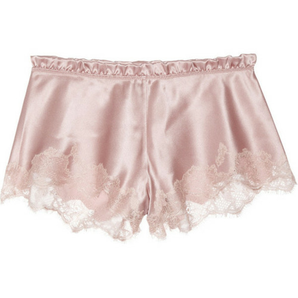 pants shorts lace pink pink shorts lace shorts old pink cute shorts cute underwear pastel