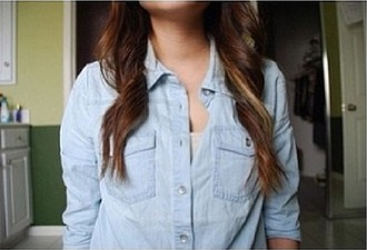 blouse blue blouse shirt