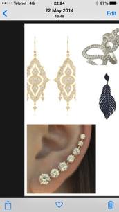 jewels,diamond ear cuff,ear cuff,ear climber,cartilage earring,earring cuff,earring climber,drop earrings,full finger rings,body kandy couture,zirconia ear cuff