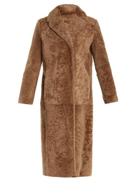 S MAX MARA coat camel