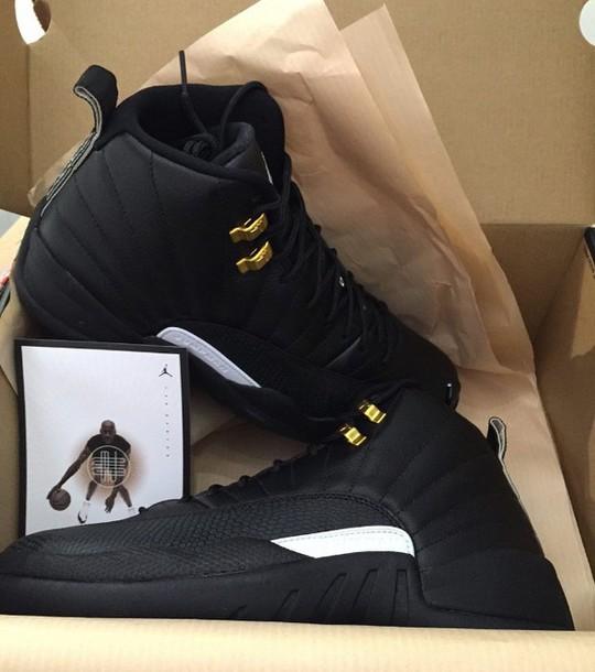 gold white black jordans