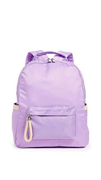 backpack lilac bag