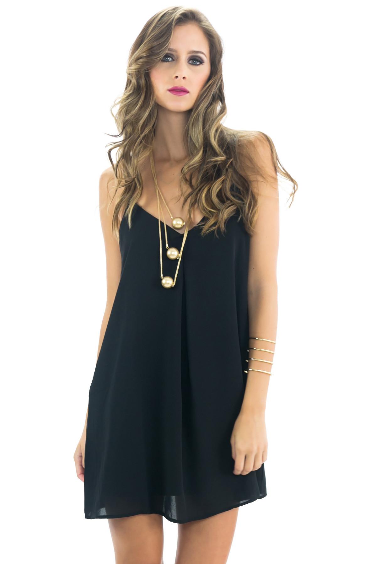 Gela spaghetti camisole dress