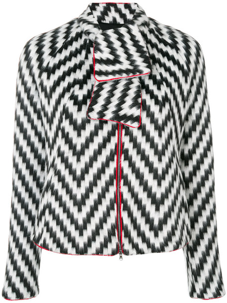 Emporio Armani jacket women cotton print