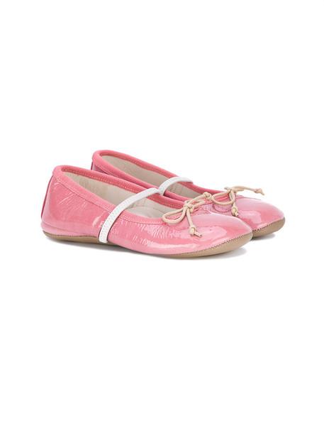 Pépé Kids flats leather purple pink 24 shoes