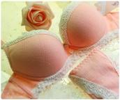 underwear,cotton candy pink,lace bra,lace lingerie,lace panties,pink panties