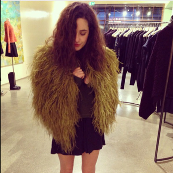 jacket fur green green fur shaggy shaggy cardigan shaggy jacket