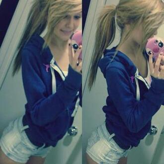 jacket acacia brinley blonde girl jewels jeans sweater hairstyles