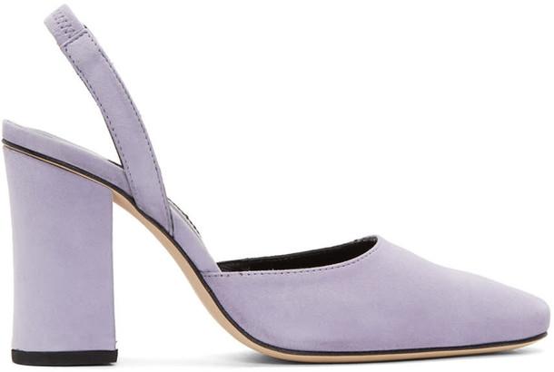 Dorateymur heels suede purple shoes