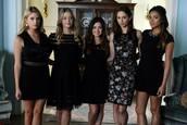 romper,dress,little black dress,black playsuit,formal wear,embellished collar,pretty little liars,shay mitchell