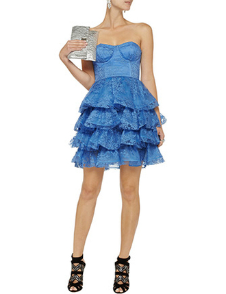 dress clothes alice in wonderland blue dress blue lace dress lace ruffle