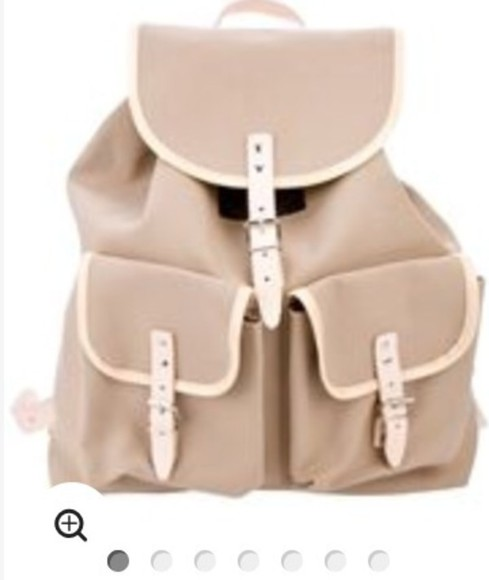 nude bag color backpack back to school