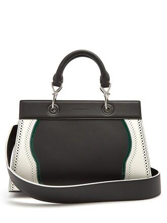 bag leather bag leather white black