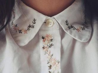 shirt floral button up hipster
