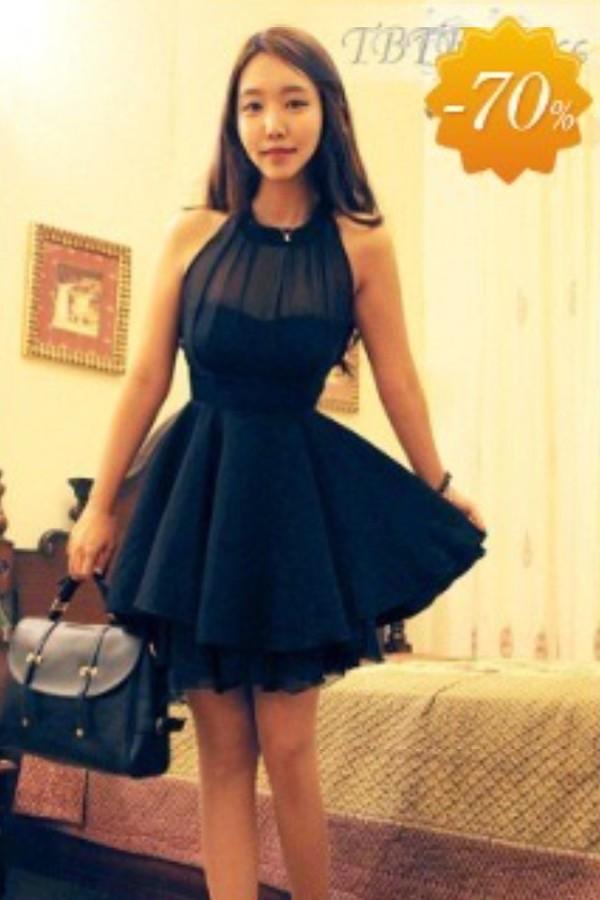 black dress dress silk dress