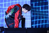 jacket,bts suga,bomber jacket,red,black,kpop,kfashion,modern