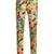 Floral-print slim-leg wool-blend trousers
