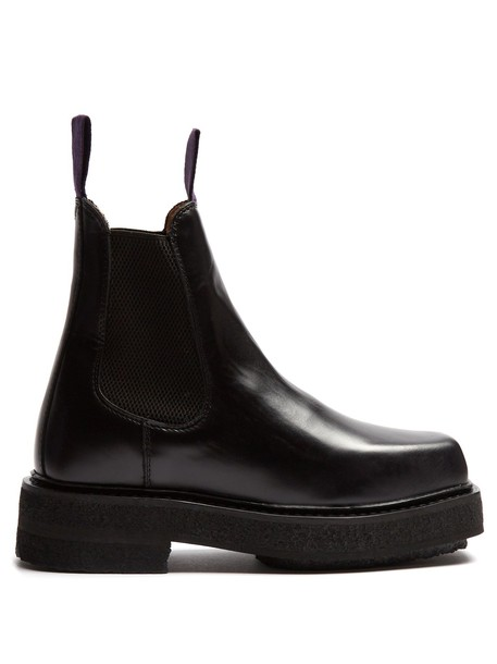 Eytys chelsea boots leather black shoes