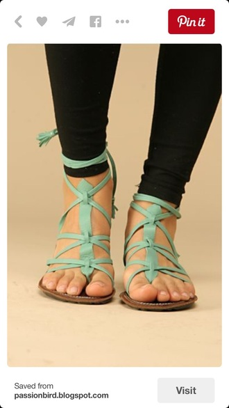 shoes mint sandals strappy sandals strappy