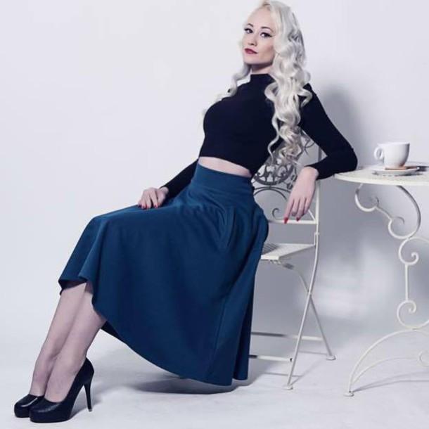 shirt blue skirt maxi skirt blue maxi skirt long skirt long maxi skirt skirt a line skirt blue a line skirt high waisted skirt