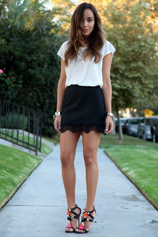 ring my bell skirt shoes jewels ashley madekwe heels coloured