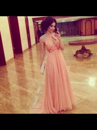 dress prom elegant pretty cute love pink beautiful style indie boho girly love it tumblr dress tumblr