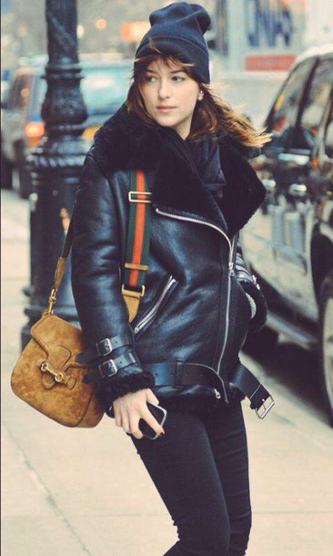 coat leather jacket style winter coat