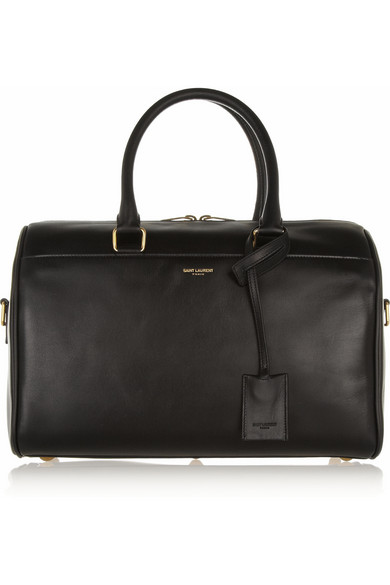 Saint Laurent | Classic Duffle 6 leather bag | NET-A-PORTER.COM