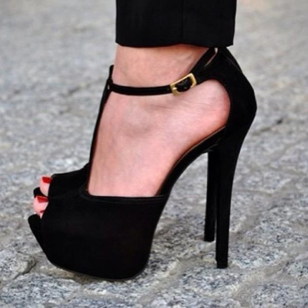 shoes heels black heels black cute party high heels black high heels platform high heels platform shoes