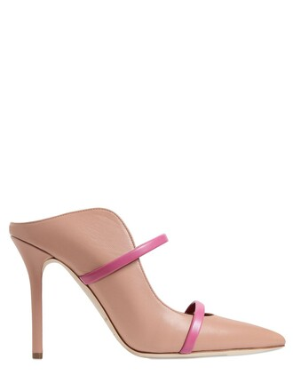 sandals leather nude pink shoes