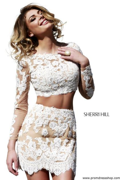 Sherri Hill Short Dress 21371 at Prom Dress Shop