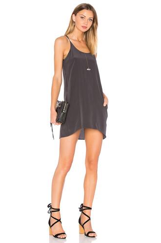 dress mini dress mini back silk black