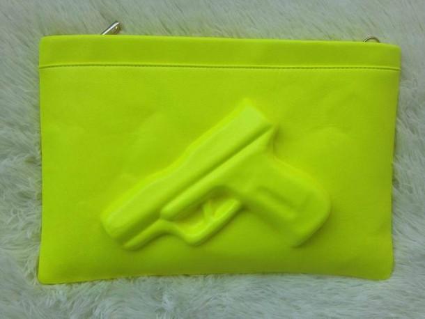 bag gun zip handbag